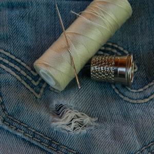 Ušijte si těhotenské kalhoty!
